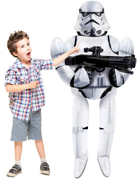 Star Wars - Sturmtruppler Storm Trooper Aiwalker Ballon 178cm