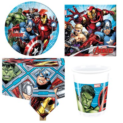 Avengers - Party-Set - Für 8 Personen