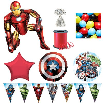 Avengers Iron Man Premium Ballon-Set