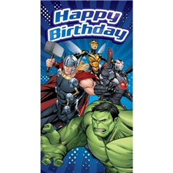 "Avengers - ""Happy Birthday"" Geburtstagskarte"