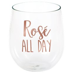 """Rosé All Day"" Stiellose Weingläser 398ml"
