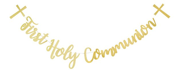 "Erstkommunion ""First Holy Communion"" Girlande 2m"