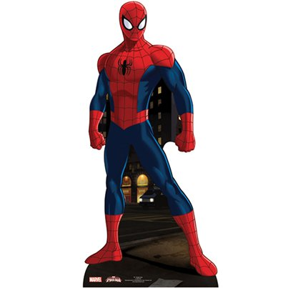 Spiderman - Mini-Pappaufsteller 96cm