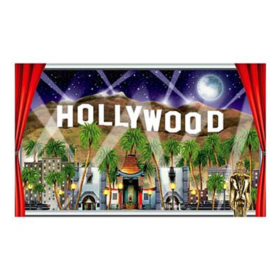 Hollywood-Aussicht Poster 1,57m