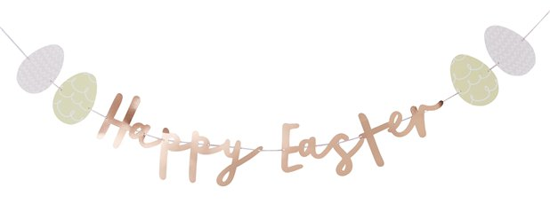 """Happy Easter"" Girlande"