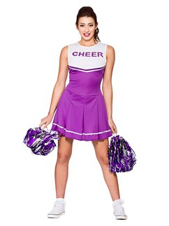 Lilaner High School Cheerleader