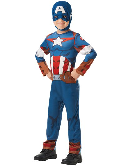 Captain America - Kinderkostüm