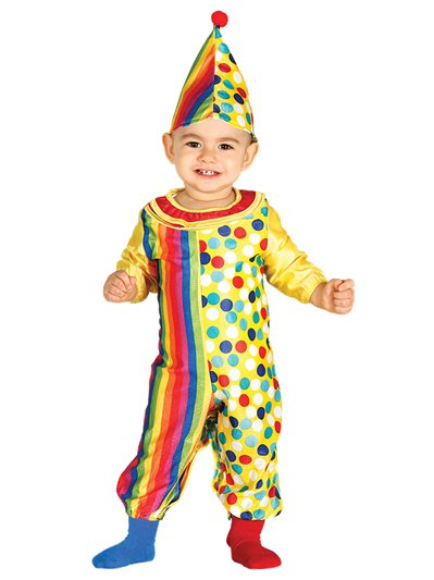 Clown Jumpsuit - 6-12 Monate