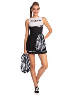 Schwarzer High School Cheerleader