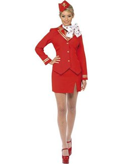 Schicke Stewardess