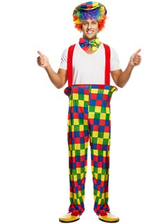Regenbogen Clown