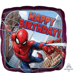 "Spider-Man - ""Happy Birthday"" Folienballon 46cm"