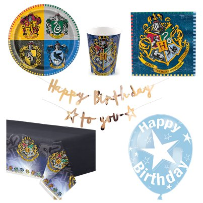 Harry Potter - Premium Party Deko Set - Für 8 Personen