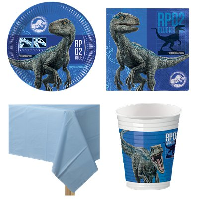 Jurassic World - Party Deko Set - Für 8 Personen
