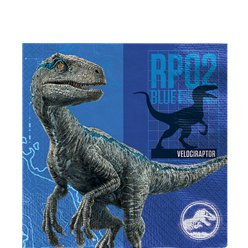 Jurassic World - Papierservietten 2-lagig