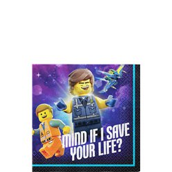 LEGO Movie 2 - Getränkeservietten 25cm