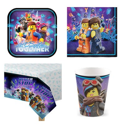 LEGO Movie 2 - Party Deko Set