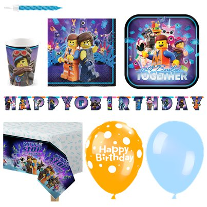 LEGO Movie 2 - Premium Party Deko Set