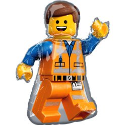 LEGO Movie 2 - Legofigur Folienballon 61cm x 81cm