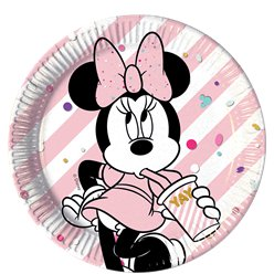 Disney Minnies Edelsteine - Pappteller 23cm