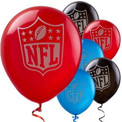 NFL American Football - Luftballons aus Latex 30cm