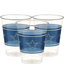NFL American Football Dallas - Plastikbecher 455ml 25 Stck.