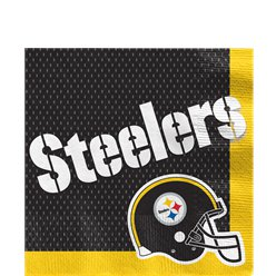 NFL Pittsburgh Steelers - Papierservietten 16 Stück