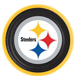 NFL Pittsburgh Steelers - Pappteller 23cm