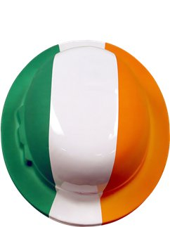 St Patrick's Day - Melone in Irlandfarben