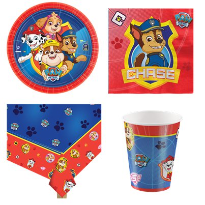 Paw Patrol - Party Deko Set - Für 8 Personen