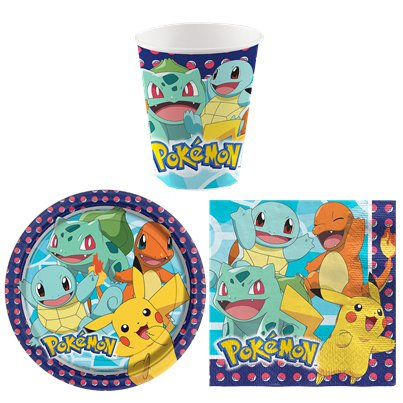 Pokémon - Super-günstiges Party Deko Set