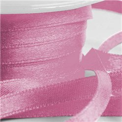 Pinkes Satinband 25m x 6mm