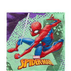Spiderman - Servietten 33cm