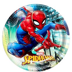 Spiderman - Pappteller 23cm
