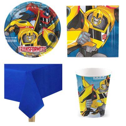 Transformers - Party Deko Set - Für 8 Personen