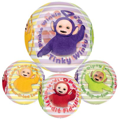 Teletubbies - Orbz Folienballon 41cm