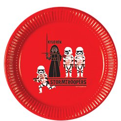 Star Wars Pop-Art Comic - Pappteller 23cm