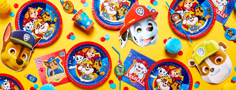Paw Patrol Party Deko