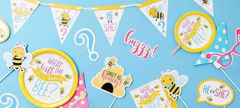 Gender Reveal Party - Kleines Bienchen