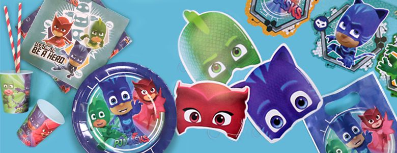 PJ Masks Pyjamahelden - Party Deko