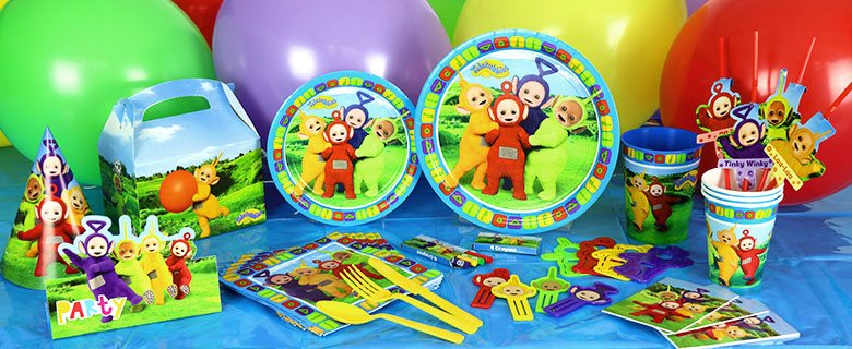 Teletubbies - Party Deko