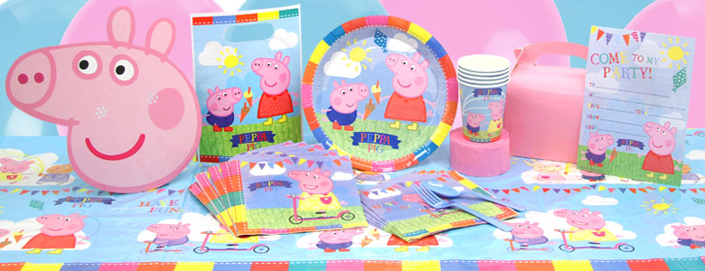 Peppa Wutz Party Deko